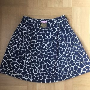 Lilly Pulitzer Skirt with Detachable Belt size 2